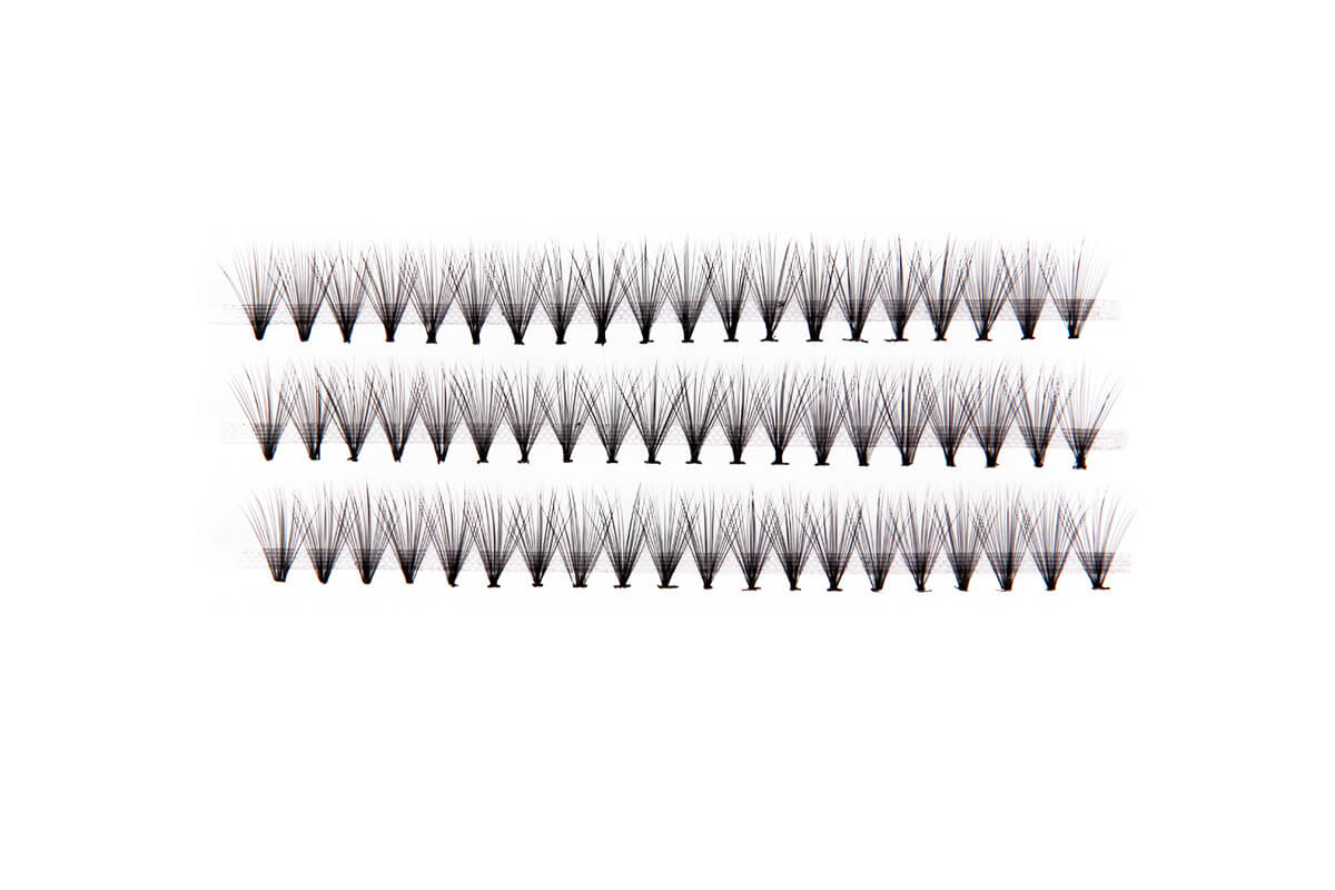 12mm Individual False Lashes Eyelash Extensions