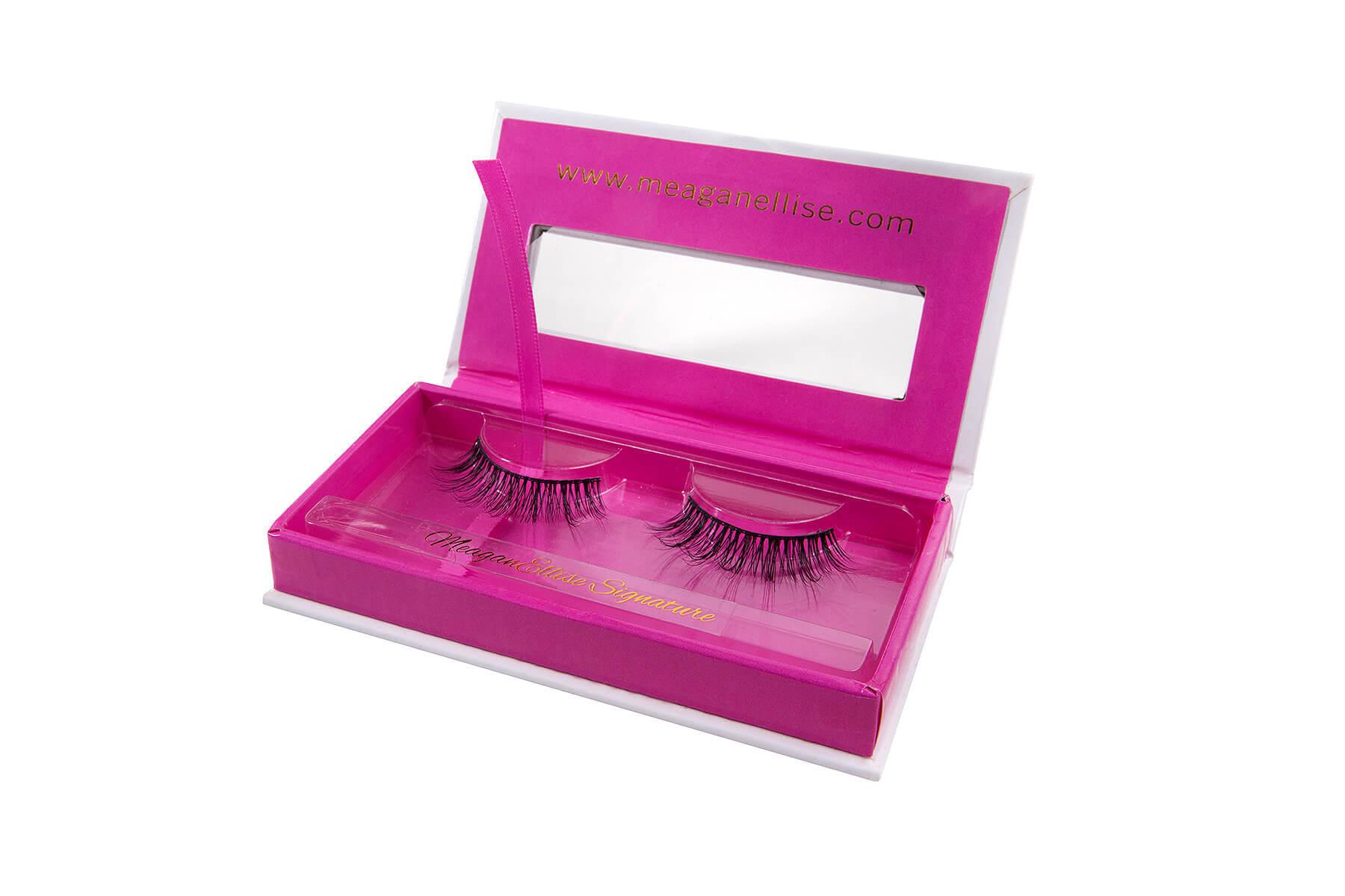 MeaganEllise Signature Mink Eyelashes - Open Box