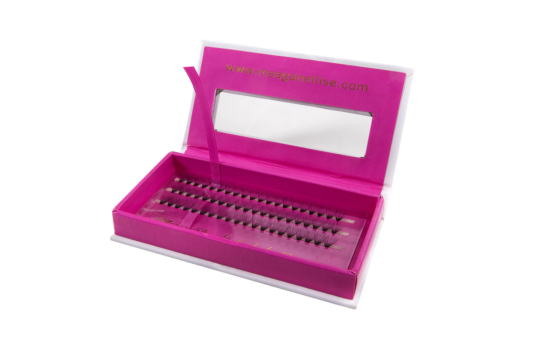 MeaganEllise Individual Eyelashes 10mm - Open Box