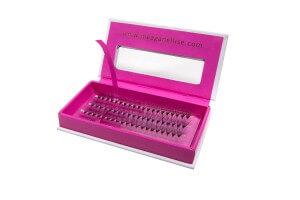 MeaganEllise Individual eyelashes 14mm - box open