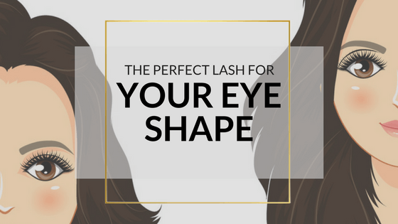 The Perfect False Eyelashes For Your Eye Shape-