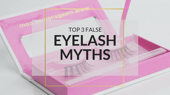 Three Common Myths About False Eyelashes