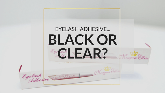 Black Or Clear Eyelash Adhesive